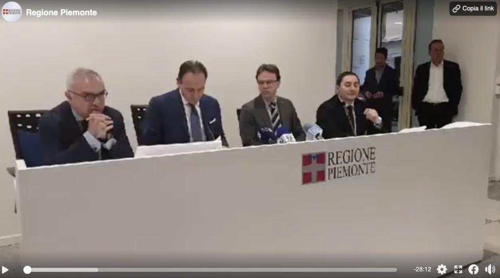 Il video della conferenza stampa di venerdì 6 marzo