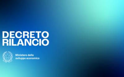 DECRETO RILANCIO, SLIDE E BROCHURE A CURA DEL MISE
