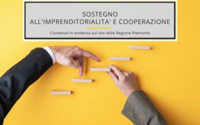 SOSTEGNO ALL'IMPRENDITORIALITA' E COOPERAZIONE