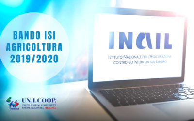 INAIL BANDO ISI AGRICOLTURA 2019/2020
