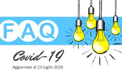 """FAQ – DOMANDE FREQUENTI DECRETO """"CURA ITALIA"""" – 23.07.2020"""