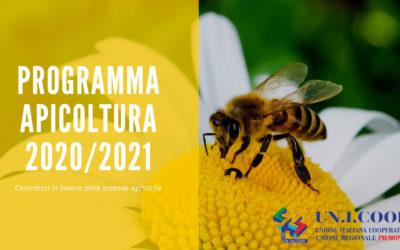 PROGRAMMA APICOLTURA 2020/2021 – Contributi in favore delle aziende apistiche