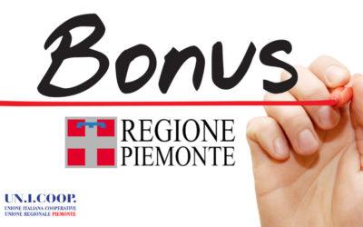 COME RICEVERE IL BONUS PIEMONTE – TERMINE ULTIMO 28 FEBBRAIO 2020