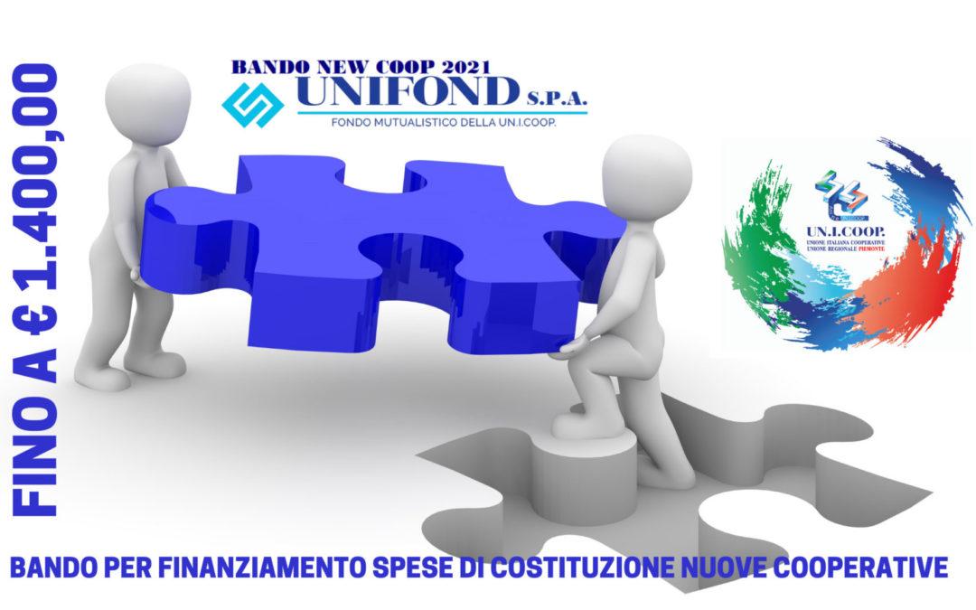 BANDO NEW COOP 2021 – UNIFOND S.P.A.