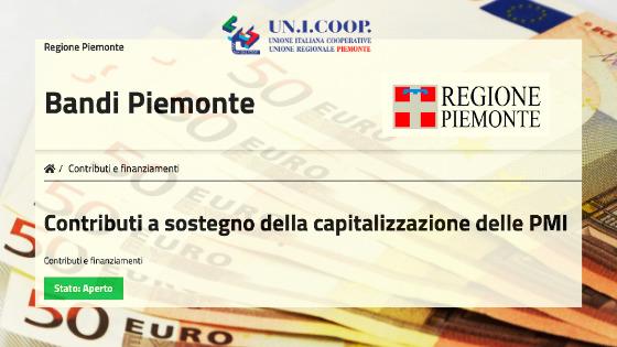 Contributi a sostegno della capitalizzazione delle PMI